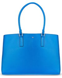 Anya Hindmarch Large Ebury Tote Blue - Lyst