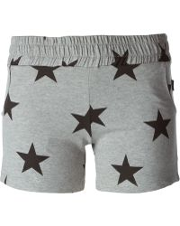 Moschino Star Print Shorts - Lyst