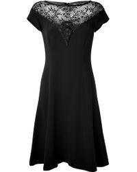Ralph Lauren Collection Embroidered Lace Cocktail Dress - Lyst