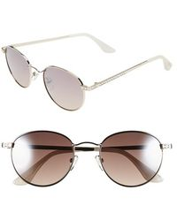 Isaac Mizrahi New York - 51mm Sunglasses - Lyst