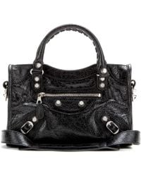 Balenciaga Giant Mini City Leather Shoulder Bag - Lyst