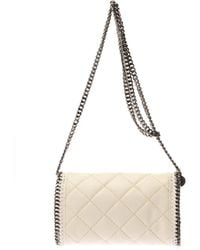 Stella McCartney Falabella Quilted Crossbody Bag - Lyst
