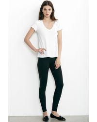 Velvet By Graham & Spencer Jillette Ponti Legging black - Lyst
