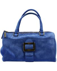 Roger Vivier Handbag Woman blue - Lyst
