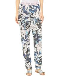 StyleStalker - Hawaiian Sunset Trousers - Lyst