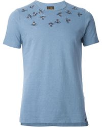 Vivienne Westwood Embroidered Orb T-Shirt - Lyst