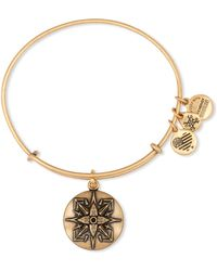 ALEX AND ANI - Healing Love Expandable Wire Bangle - Lyst