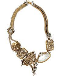 Erickson Beamon Heart Of Gold Necklace - Lyst