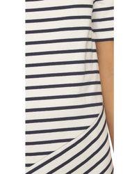 Petit Bateau - Striped Dress - Coquille/noctambule - Lyst