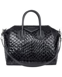 Givenchy Fish-skin Medium Antigona Duffel - Lyst