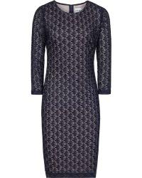 Reiss Davina Stitch Lace Dress - Lyst