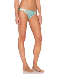 Zimmermann Anais Bikini Bottoms blue - Lyst