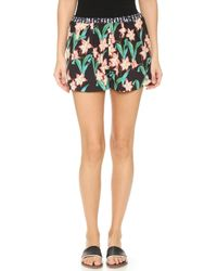 Clover Canyon - Floral Sunrise Short - Lyst
