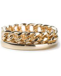 Chloé Chain Ring - Lyst