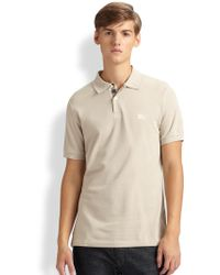 Burberry Brit Modern-fit Polo - Lyst
