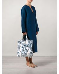 Dosa - Printed Canvas Tote - Lyst