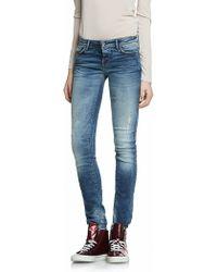 Patrizia Pepe Skinny Stretch Denim Jeans - Lyst