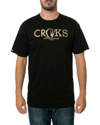 Crooks And Castles The Gleamin Tee - Lyst