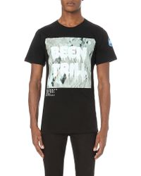 Been Trill - Moon-print Cotton-jersey T-shirt - Lyst