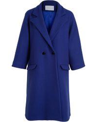 Osman Yousefzada Double Breasted Overcoat - Lyst
