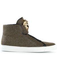Versace Black Medusa Sneakers - Lyst