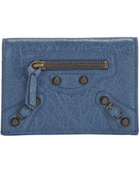 Balenciaga Arena Classic Double Card Holder - Lyst