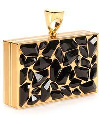 Tom Ford Crystal Brass Ring Clutch Bag - Lyst