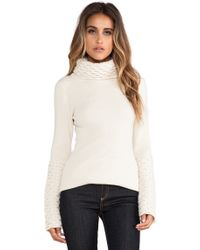 Alice By Temperley Honeycomb Turtleneck Tunic - Lyst