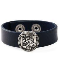 Diesel 'Astugo' Bracelet blue - Lyst