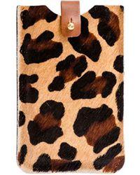 N'damus London - Iphone Sleeve Leopard - Lyst