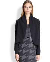 Max Mara Blingy Woolcashmere Open Cardigan - Lyst
