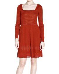 M Missoni Dress Woman - Lyst