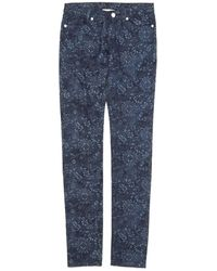 Band of Outsiders Skinny Jeans blue - Lyst