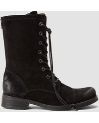 AllSaints Military Trial Boot - Lyst