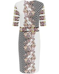 Etro Paisley Milano Sheath Dress - Lyst