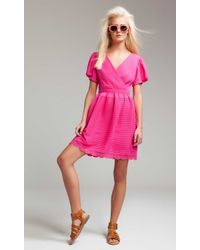 Alice By Temperley Mina Tea Dress pink - Lyst