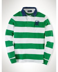 Polo Ralph Lauren Custom Crossed-Mallet Rugby - Lyst