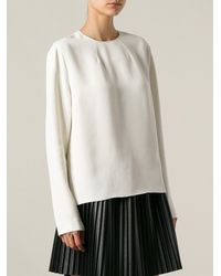 Forte Forte Boxy Crepe Top - Lyst