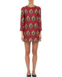 Dolce & Gabbana Sacred Hearts A-Line Mini-Dress - Lyst