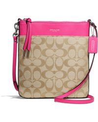 Coach Legacy Northsouth Swingpack in Signature Fabric - Lyst