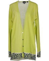 Just Cavalli Green Cardigan - Lyst