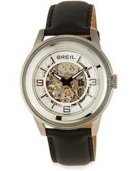 Breil - Orchestra Leather-strap Watch - Lyst