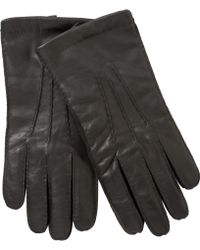 John Lewis - Wool Lined Handsewn Leather Gloves - Lyst