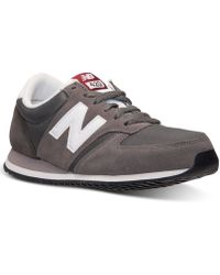 New Balance Men'S 420 Casual Sneakers From Finish Line - Lyst