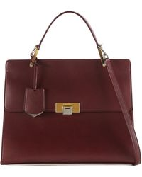 Balenciaga - Le Dix Cartable Flap Satchel Bag - Lyst