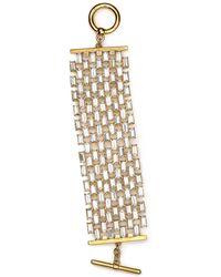 Lauren by Ralph Lauren Swarovski Crystal Baguette Bracelet, Off The Runway Signature Collection - Lyst