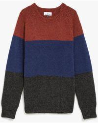 Hentsch Man Block Raglan Sweater - Lyst