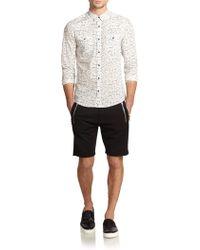The Kooples Sport - Neoprene Zip-Pocket Shorts - Lyst