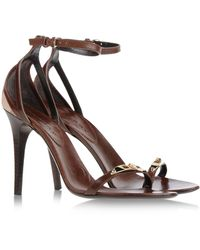 Burberry B Sandals - Lyst