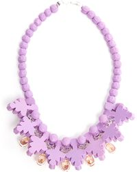 Ek Thongprasert Nemesia Sunsatia Embellished Silicone Necklace - Lyst